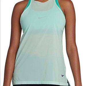 Nike Mint Strappy Flex Training Running Tank Top